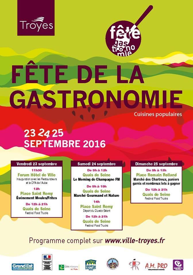 F 234 Te De La Gastronomie Sortir Dans L Aube
