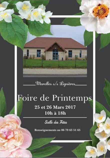 Foire de printemps 2017 sortir dans l 39 aube for Foire de moulins 2017
