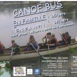 Canoë-bus à Bar sur Aube