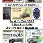 Les 100 ans de Citroën