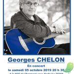 Concert: Georges Chelon