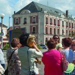 Visite de la ville de Romilly
