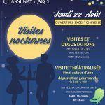 Visite nocturne Champagne Chassenay d'Arce