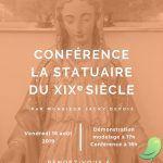 Conférence - La statuaire du 19e siècle