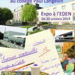 Exposition: Des écoles au Collège Paul Langevin de Romilly-sur-Seine