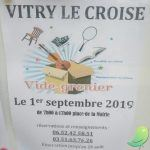 Vide grenier Vitry le Croisé