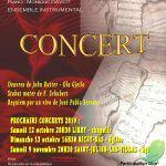 Concerts de l'ensemble vocal Cantilege