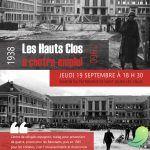 Conférence: Les Hauts Clos à contre emploi