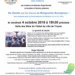 Conférence: De Gaulle sur les traces de Marguerite Bourgeoys