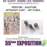 Exposition de la société artistique