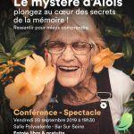 Conférence/ spectacle: Le mystère d'Aloïs