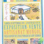 Exposition-Vente d'artisanat mongol
