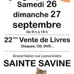 22 ème Foire aux Livres, CD, DVD