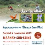 Ensemble préservons l'étang du grand mort à Marnay-sur-Seine
