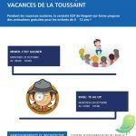 Animations vacances