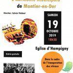 Concert de l'Harmonie municipale de Montier en Der