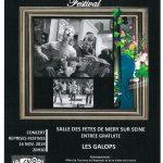 "CHAMP'ART MUSIC FESTIVAL avec ""LES GALOPS"" en concert"