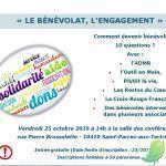 Conférence: le bénévolat, l'engagement