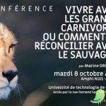 """Conférence """"vivre avec les grands carnivore"""""""