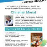Dédicace: Christian Moriat