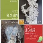 Expositions Nicole Albertini - Gérard Déchaux