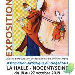 59ème salon des artistes de l'Association Artistique du Nogentais.