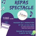 REPAS SPECTACLE