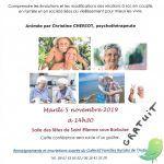 Conférence Plaisir, Désir, Vieillir