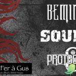 Concert Metal // Protogonos, Soul-X, Beminded