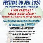 Concours: affiche festival des jeux