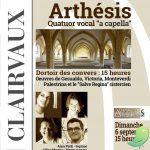 Concert quatuor Arthésis