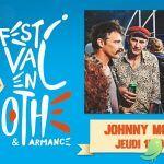 Festival en Othe: Johnny Montreuil [chansons Rock]