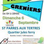 Vide grenier Saint Parres