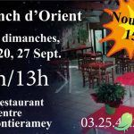 Brunch d'Orient