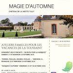 Magie d'automne au château de La Motte Tilly.