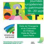 Journées européennes du patrimoine: Vendeuvre