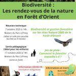Biodiversité : les rendez-vous de la nature en Forêt d'Orient