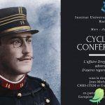 Cycle de conférences : L'Affaire Dreyfus, alliés et adversaires. D'autres regards sur l'Affaire.