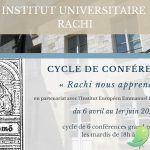 Cycle de Conférences : Rachi nous apprend..