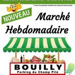 Marché à Bouilly.
