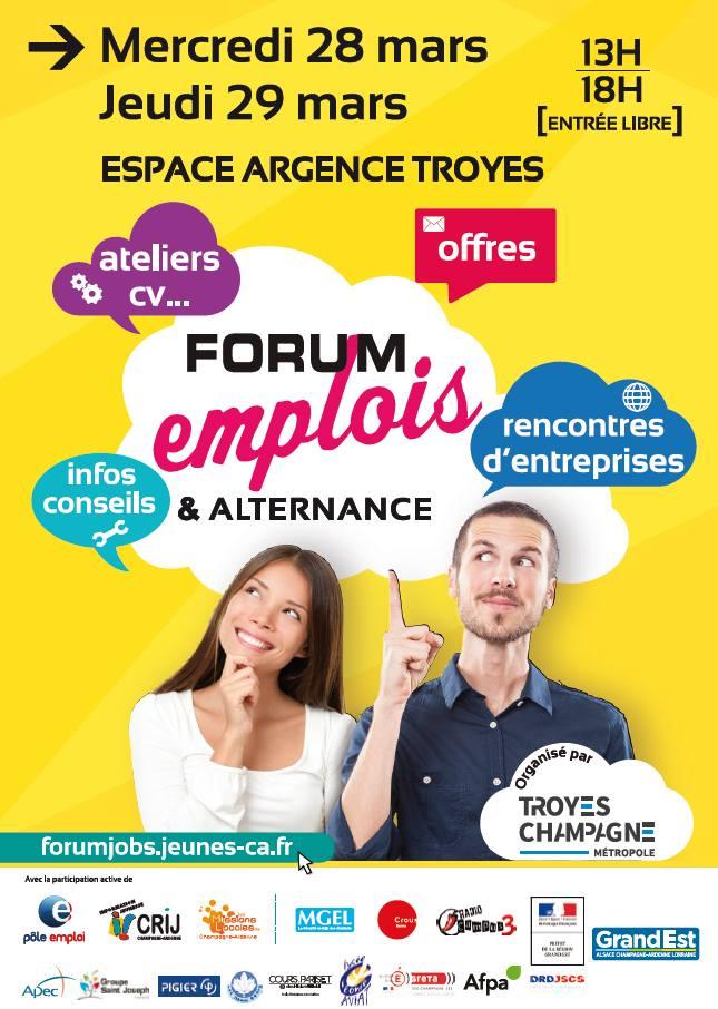 c407765eb6b Forum emplois et alternance - Sortir dans l Aube