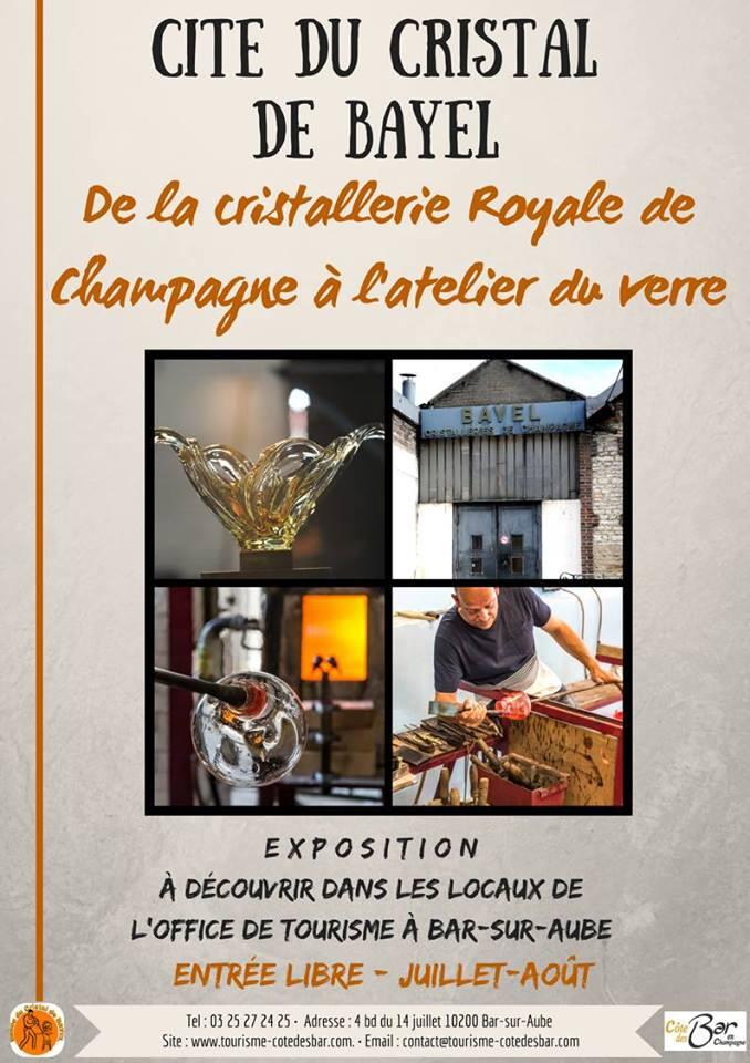 Expo De la Cristallerie Royale de Champagne à l'Atelier du verre ...