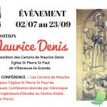 Conférence: Maurice Denis et le vitrail, un aspect méconnu de son œuvre