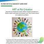 Exposition: ART et Ré Création
