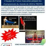 Gymnastique masculine niveau national