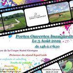Portes ouvertes Inauguration Ecurie du Clos Saint Georges