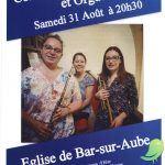 Concert Trompette, Flûte et Orgue