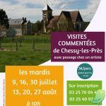 Visites commentées de villages: Chessy Les Près
