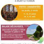 Visites commentées de villages: Rigny le Ferron