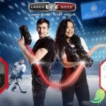 Laser game on Ice